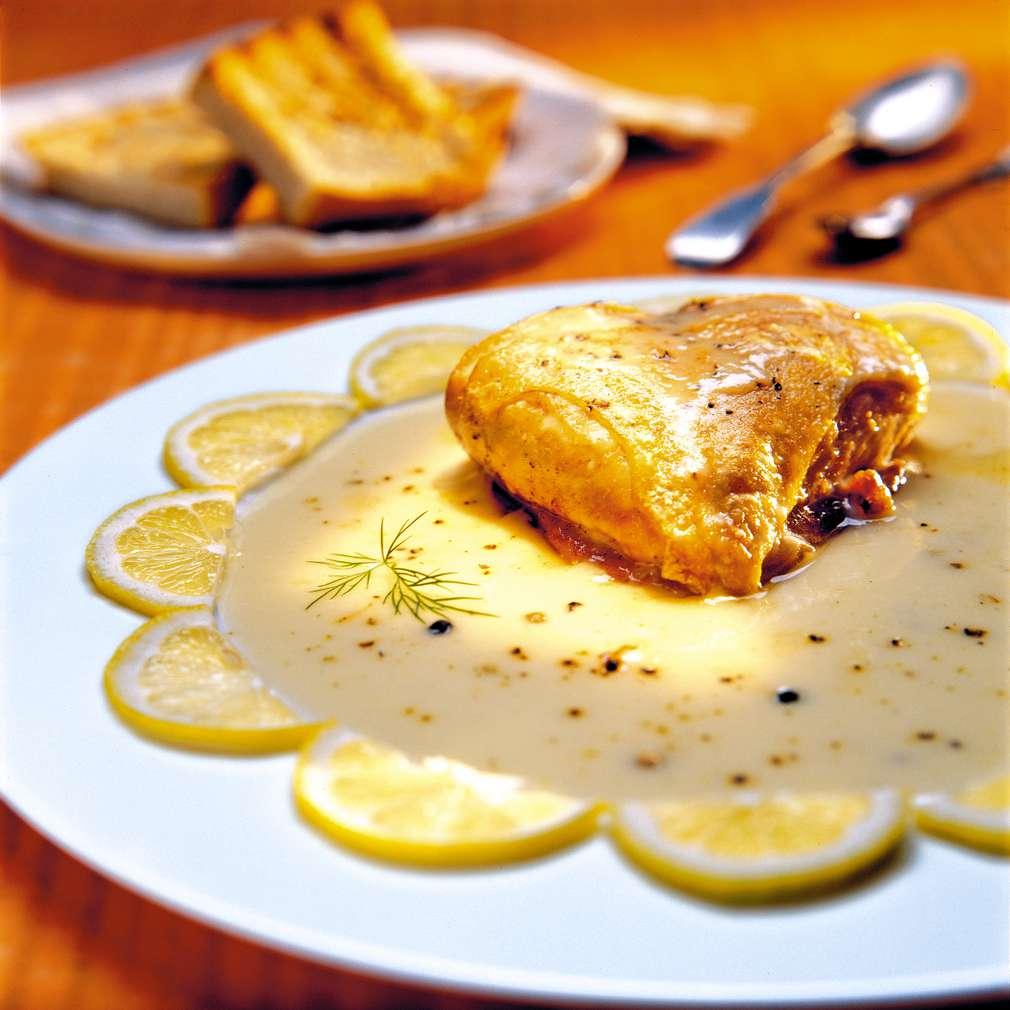 Изобразяване на рецептата Пиле фрикасе
