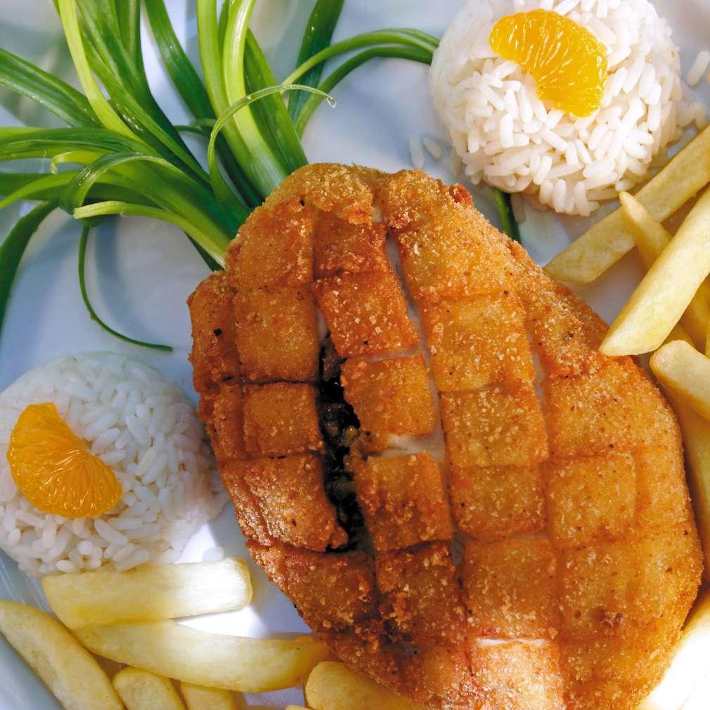 Изобразяване на рецептата Пиле Ананас