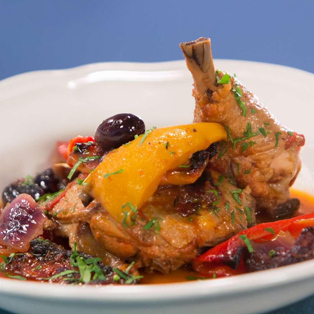 Изобразяване на рецептата Печени пилешки бутчета по провансалски