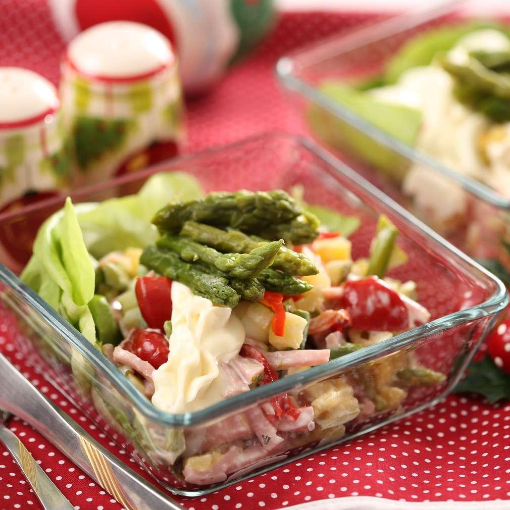 Imaginea rețetei Salată de sparanghel