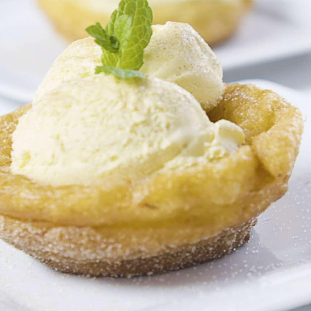 Imaginea rețetei Vafe de înghețată din aluat de churros