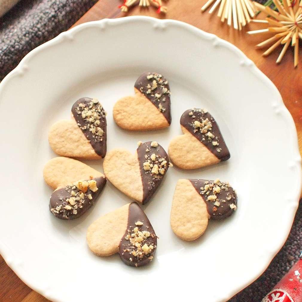 Zobrazit Špaldová srdíčka s ořechy receptů