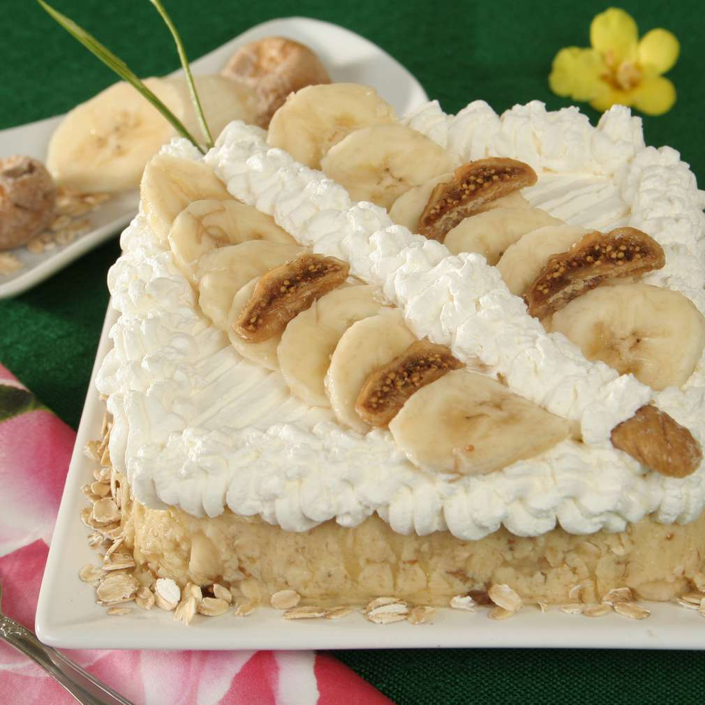 Imaginea rețetei Tort de smochine și banane