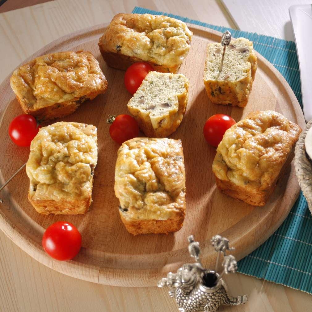 Imaginea rețetei Minichecuri cu verdeață și ciuperci