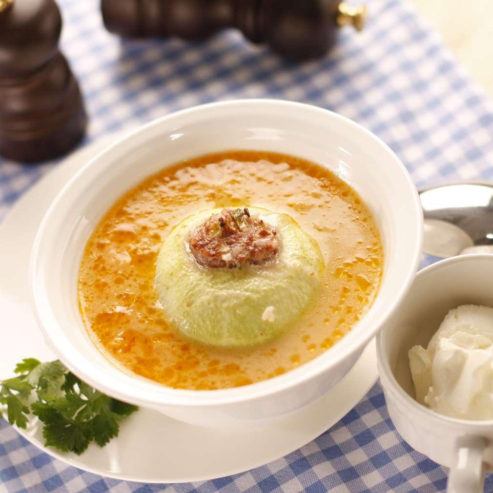 Imaginea rețetei Supă ardelenească de gulii umplute