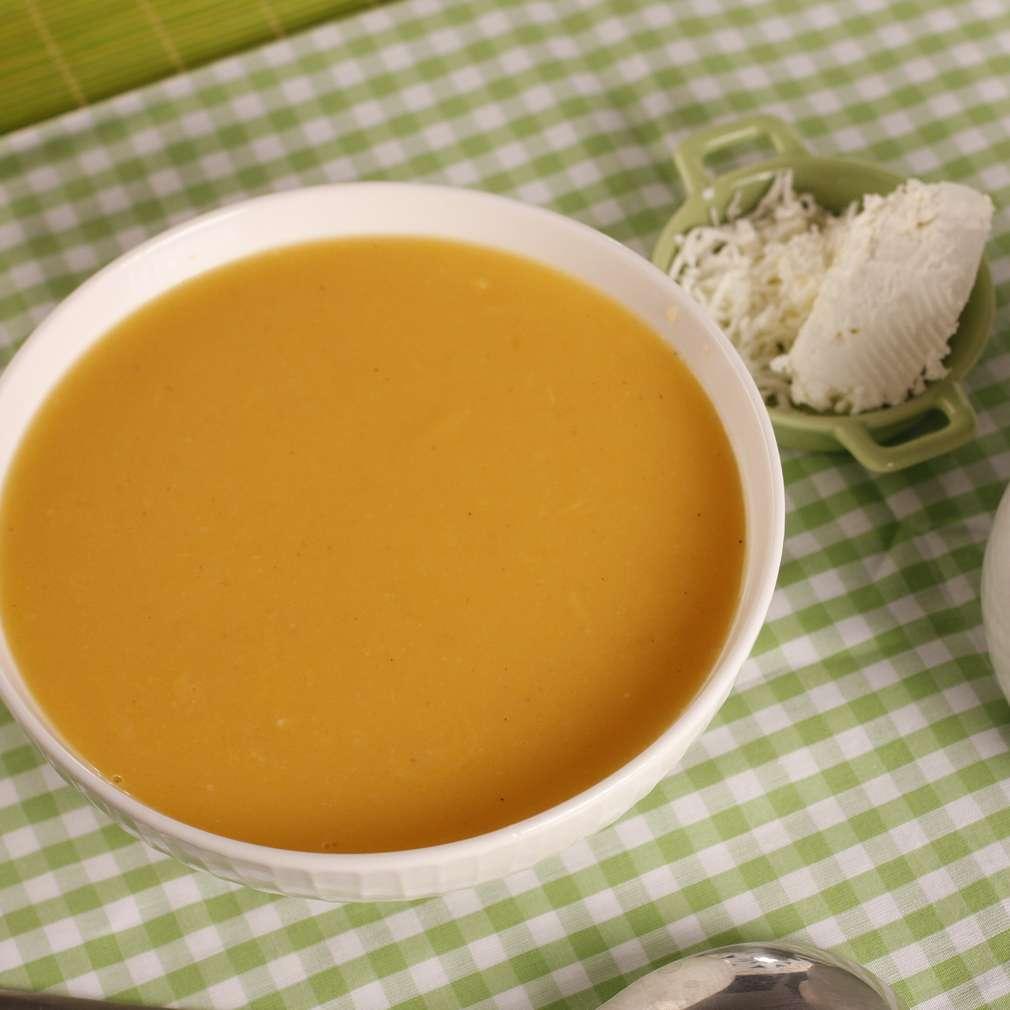 Imaginea rețetei Supă de păstârnac cu ghimbir
