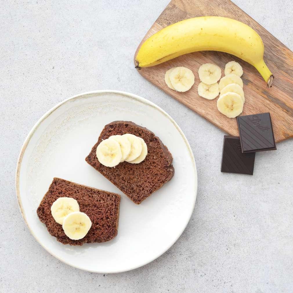 Zobrazit Banánový chlebíček s čokoládou receptů