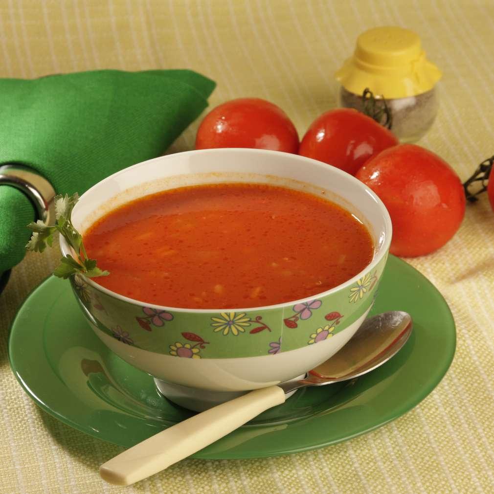 Imaginea rețetei Supă de roșii cu orez
