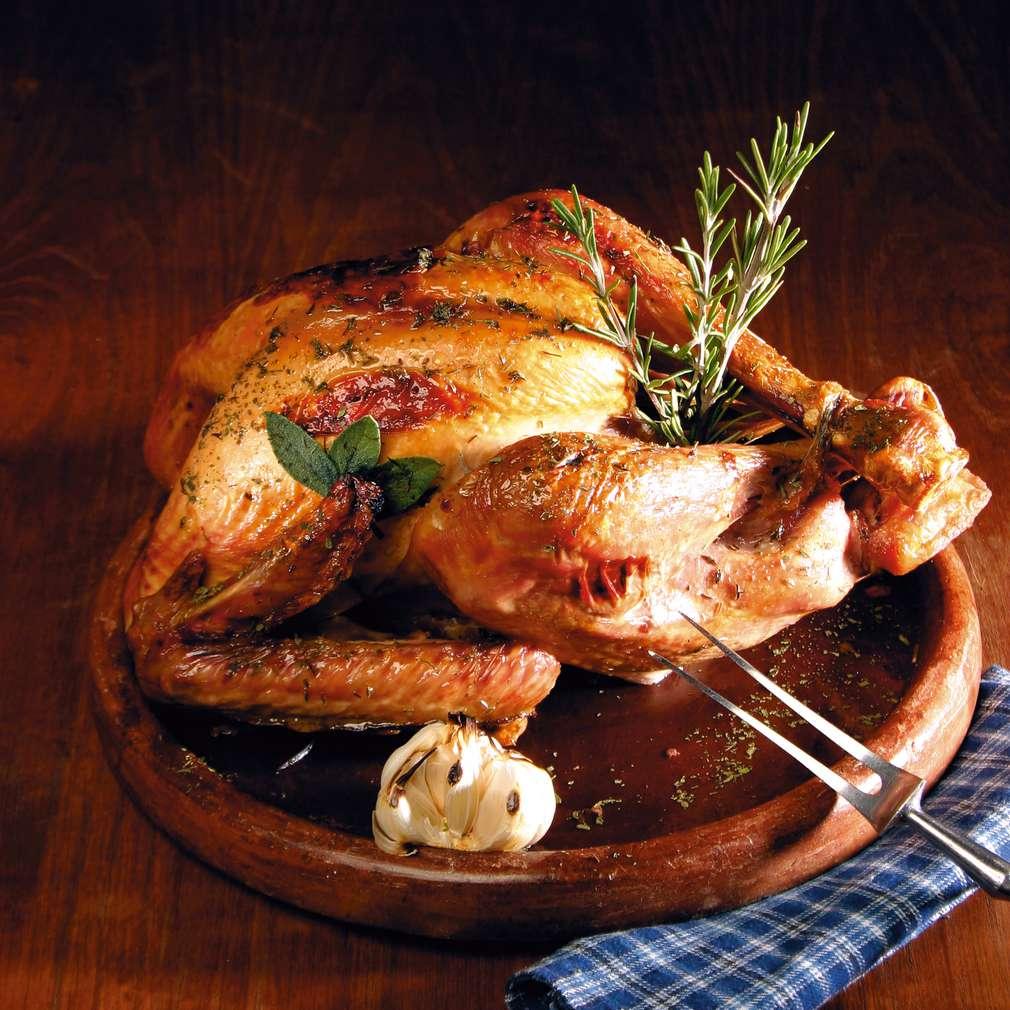 Изобразяване на рецептата Пълнена пуйка с кестени