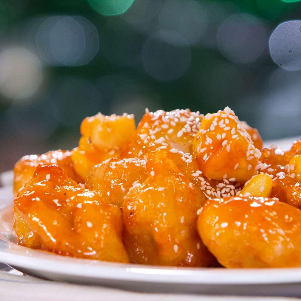 Изобразяване на рецептата Пиле в сладко-кисел сос