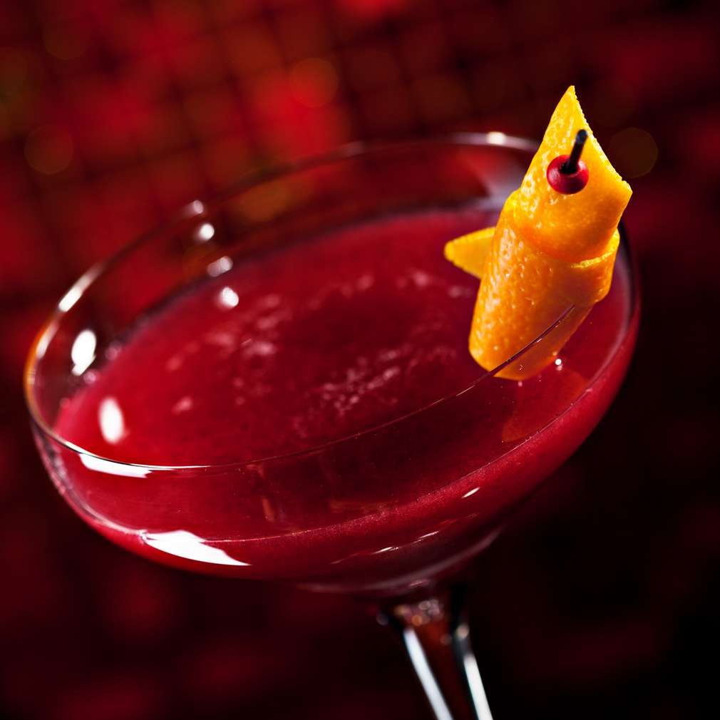Imaginea rețetei Cocktail cu afine