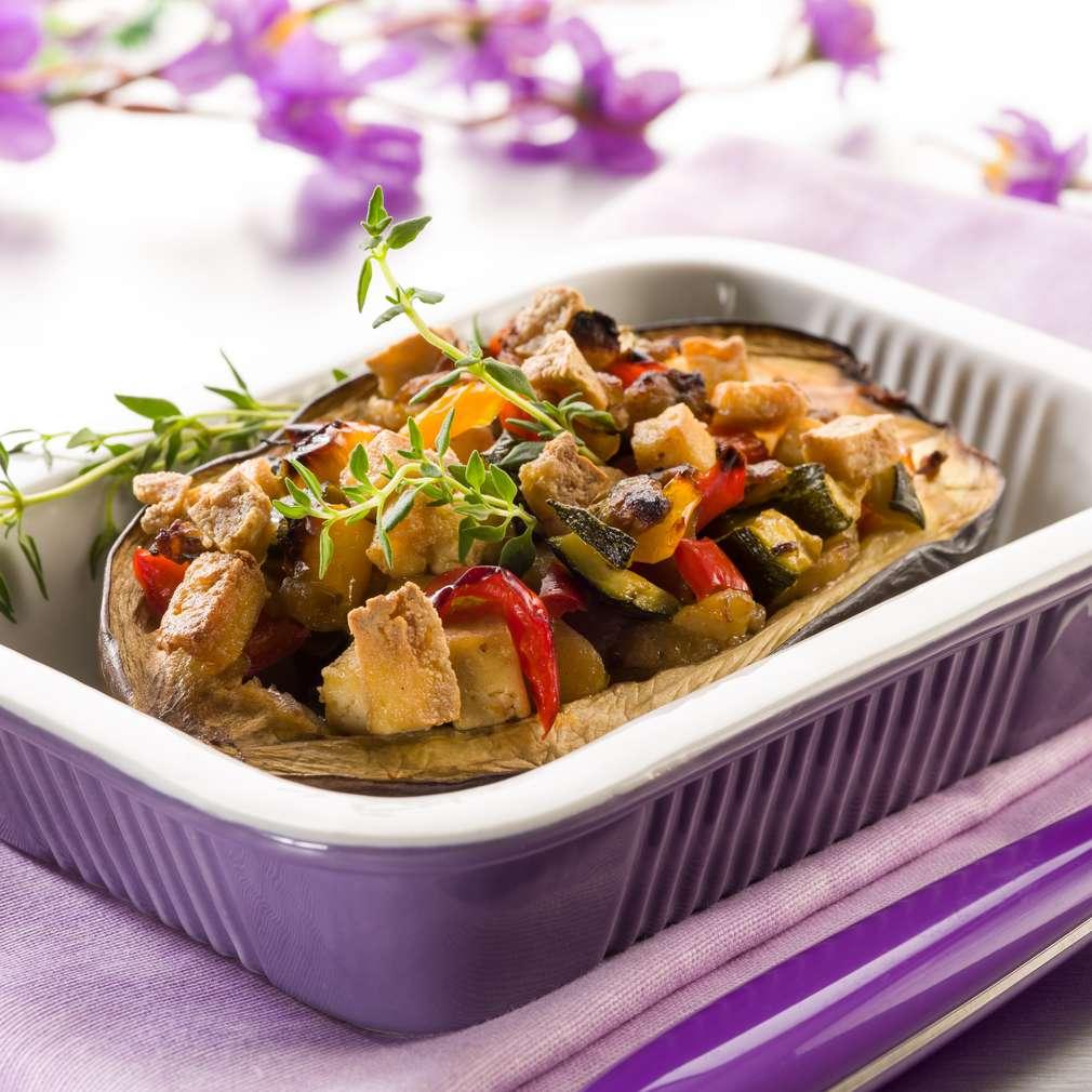 Imaginea rețetei Vânătă umplută cu tofu