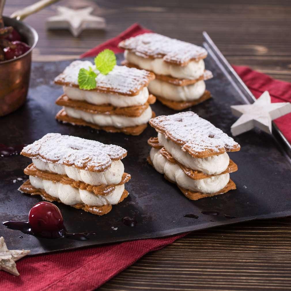 Imaginea rețetei Biscuiți cu cireșe amare