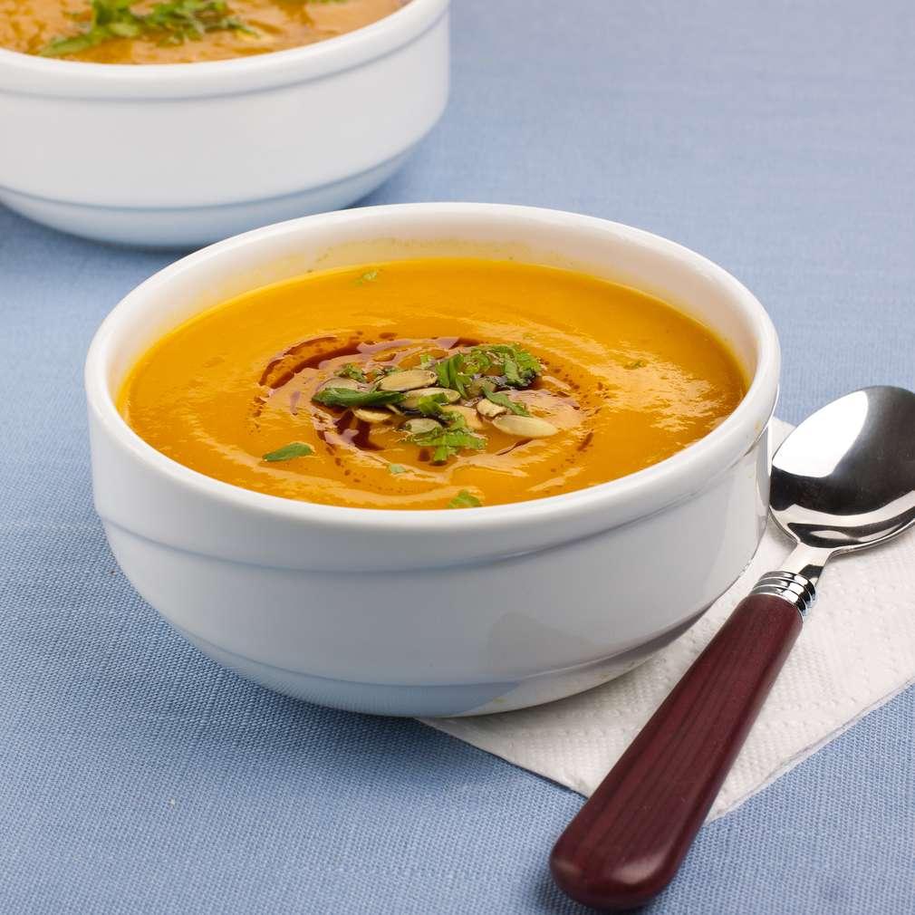 Supă cremă de dovleac fiert