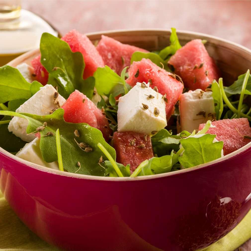 Imaginea rețetei Salată de pepene