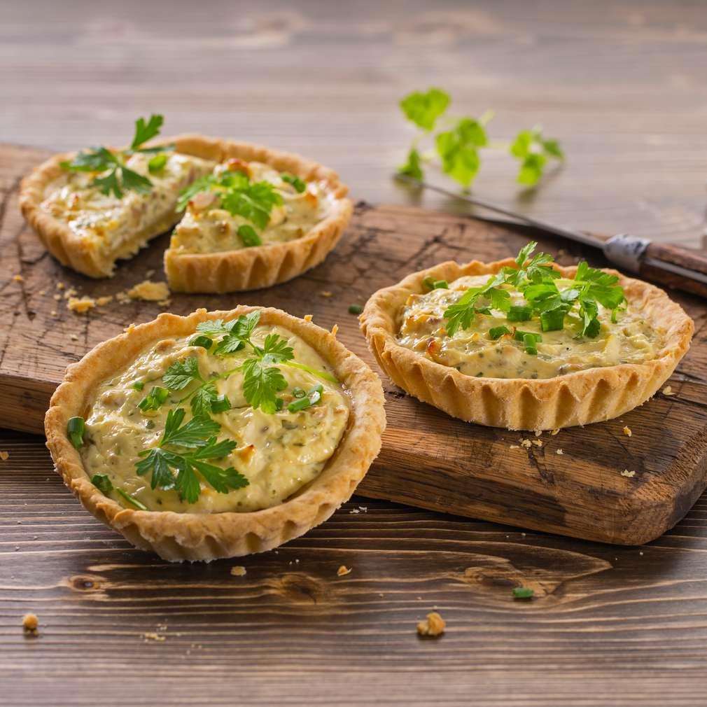 Fotografija recepta Mini pite s kestenima i začinskim biljem