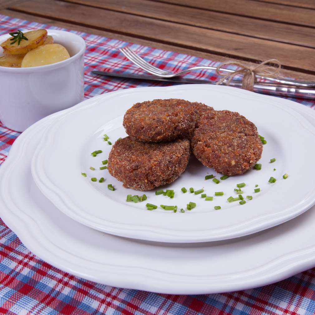 Zobrazenie receptu Pohánkové fašírky s údeným mäsom
