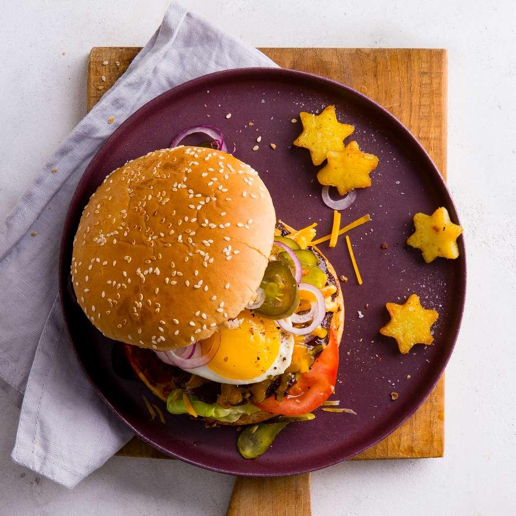 Rezept für Weihnachts-Burger | Kaufland