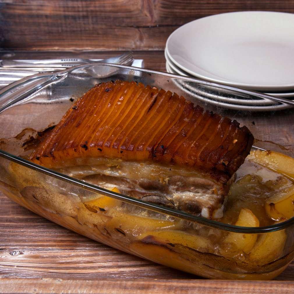 Zobrazenie receptu Pečený bôčik s chrumkavou kožou