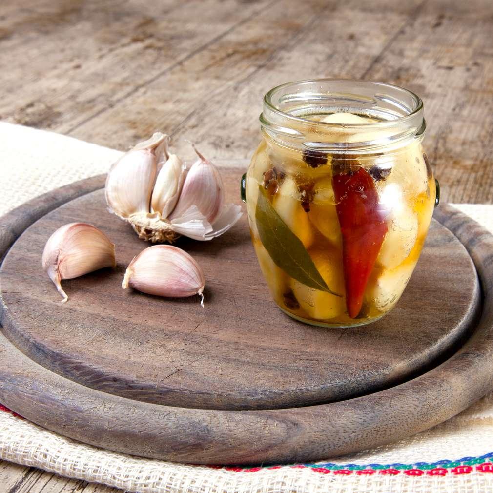 Zobrazenie receptu Domáci nakladaný cesnak