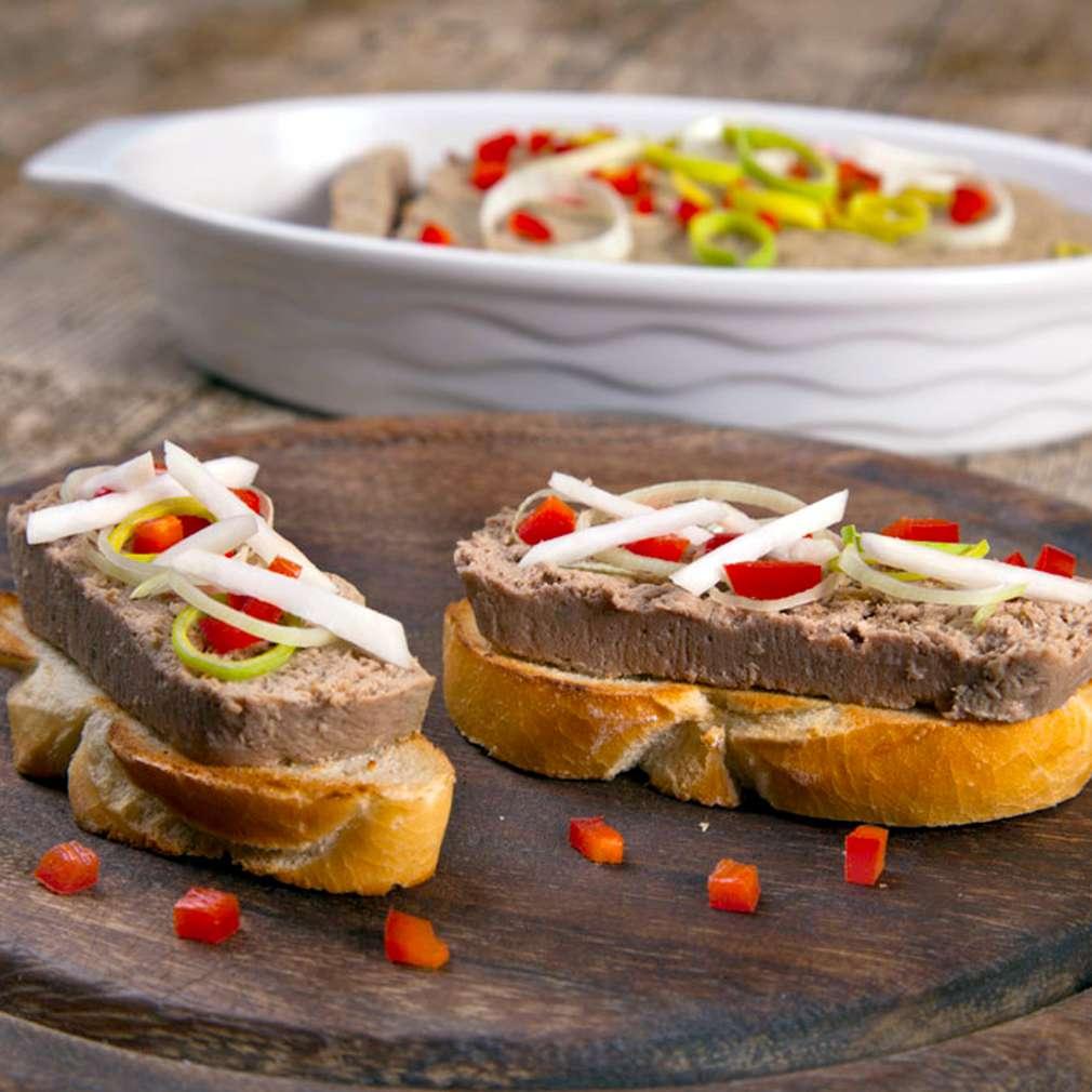 Zobrazenie receptu Paštéta z bravčového mäsa a pečene