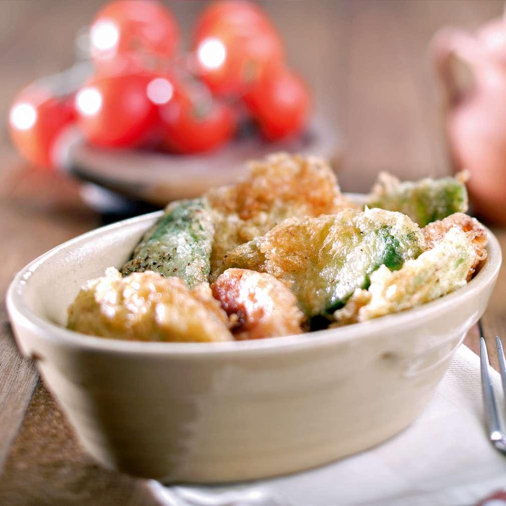 Изобразяване на рецептата Хрупкави зеленчуци с пушена плънка