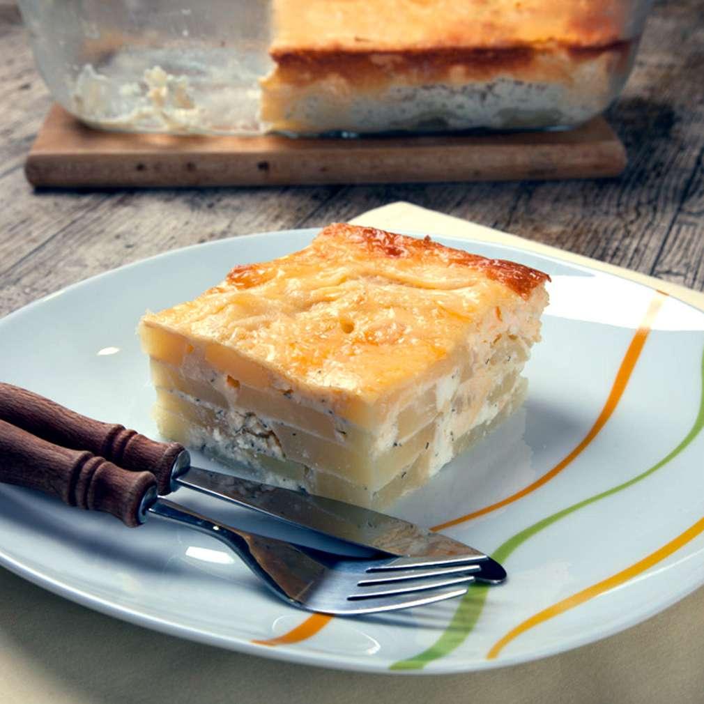 Zobrazenie receptu Slovenské zapekané zemiaky