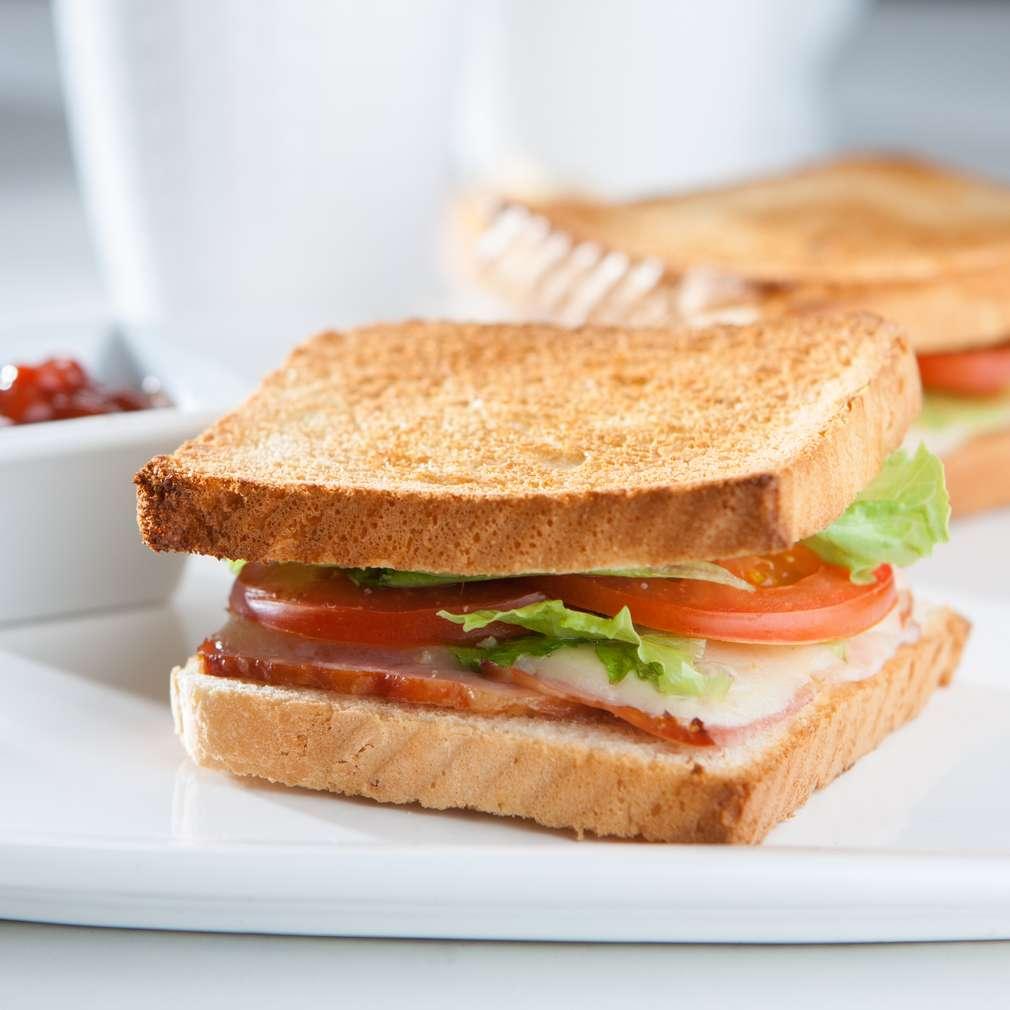Изобразяване на рецептата BLT Сандвич