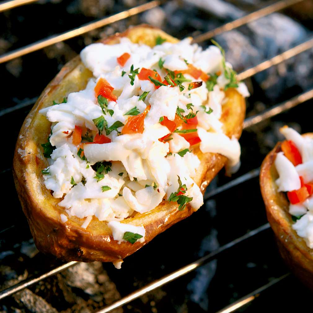 Изобразяване на рецептата Запечени картофи със сирене