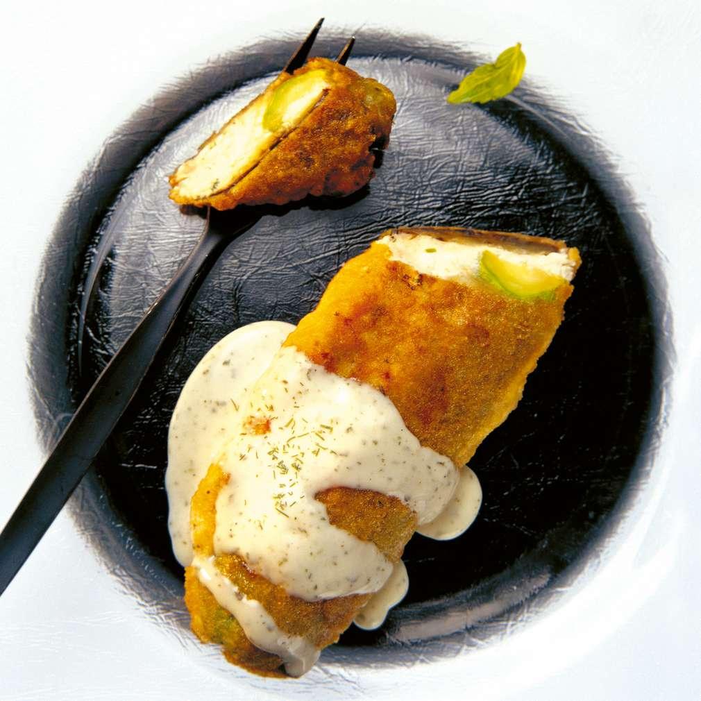 Изобразяване на рецептата Тиквички-патладжан бюрек