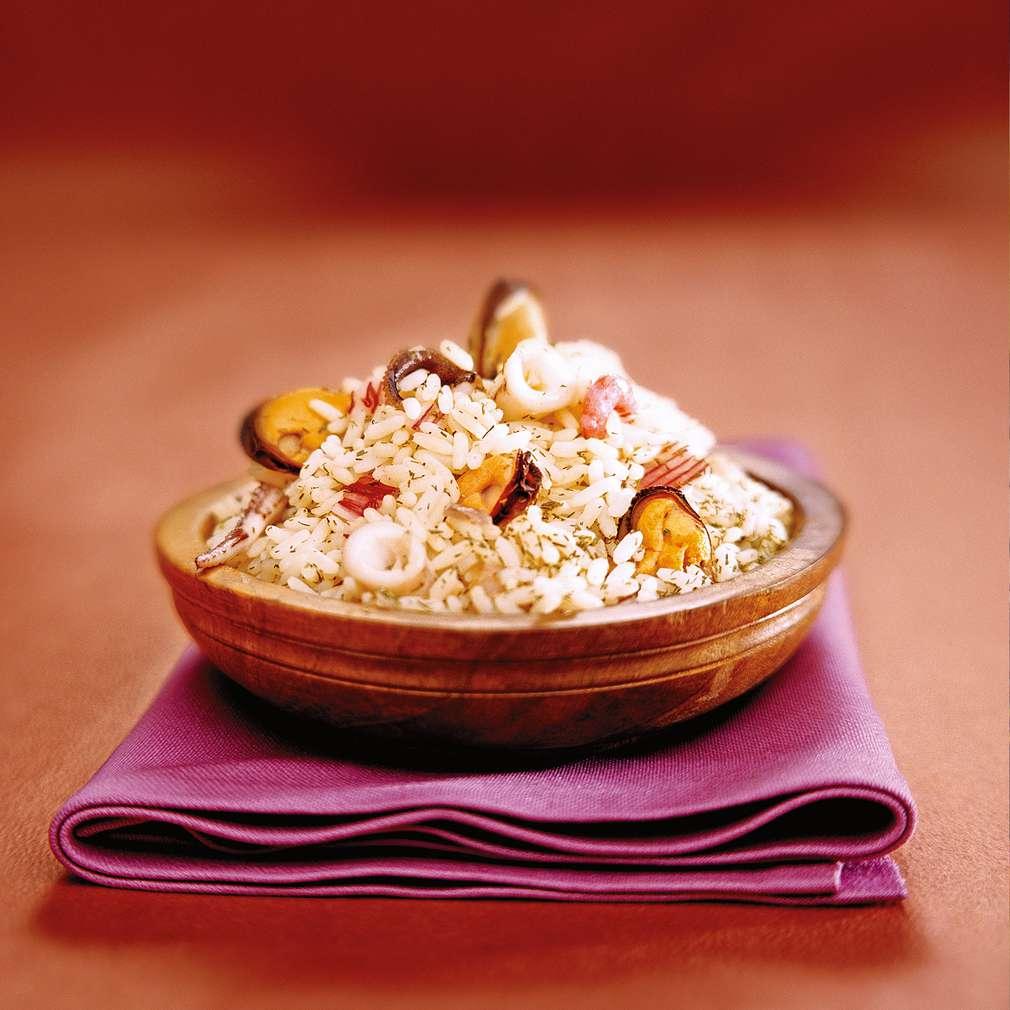 Изобразяване на рецептата Ризото Фрути ди маре