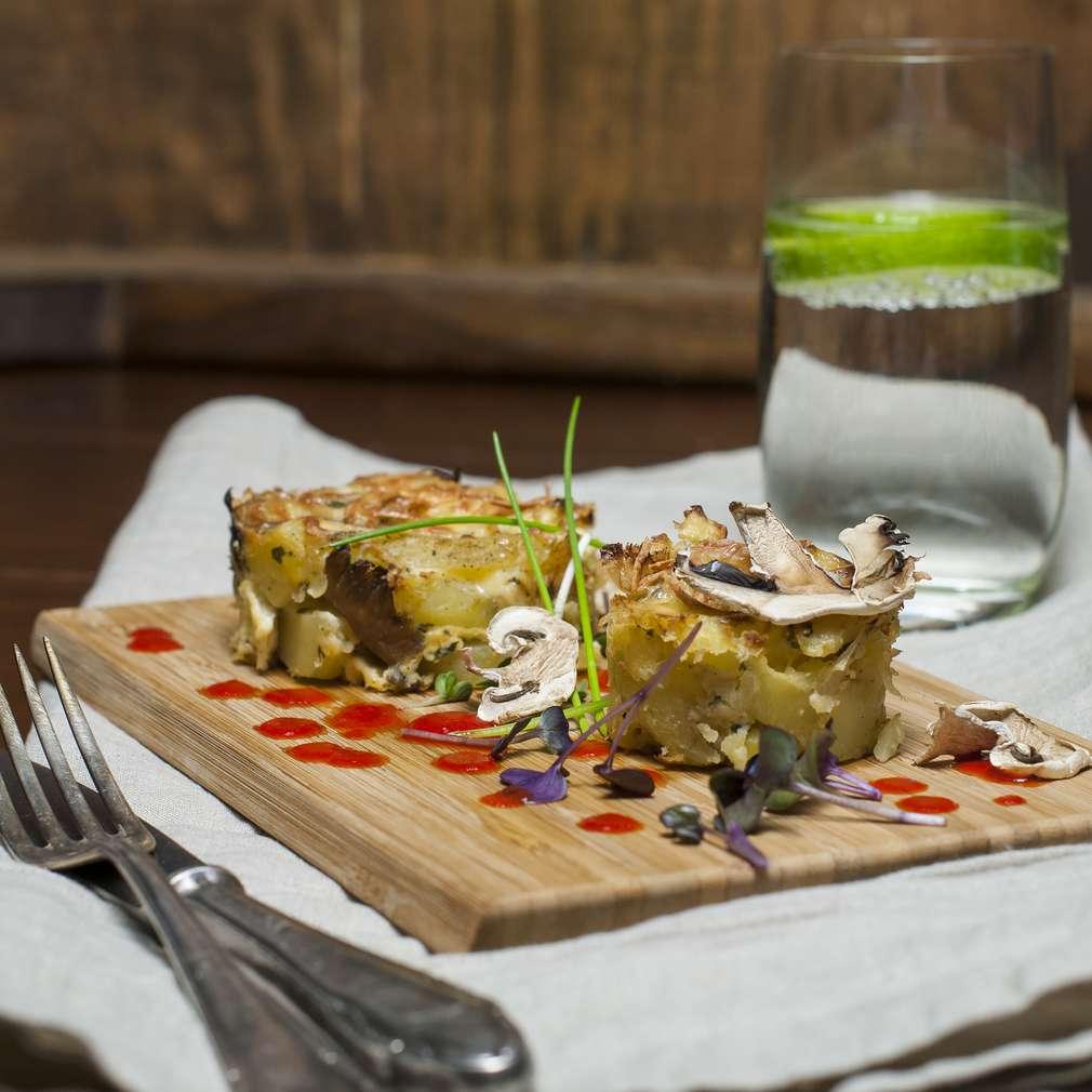 Zobrazenie receptu Zapekané zemiaky s hlivou
