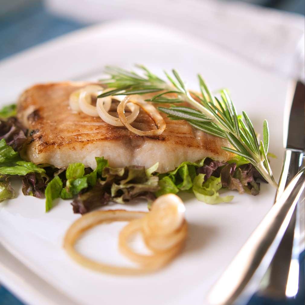 Изобразяване на рецептата Рибно филе по лионски