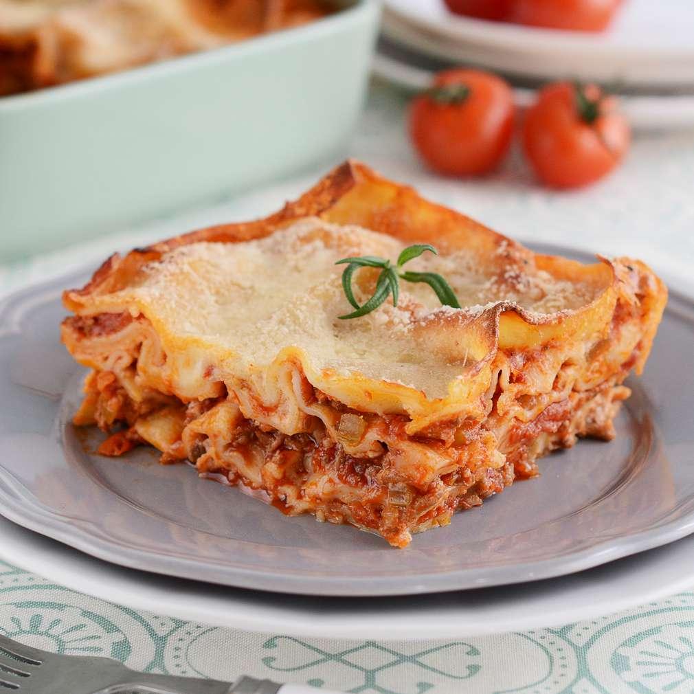 Zobrazenie receptu Lasagne s mletým mäsom
