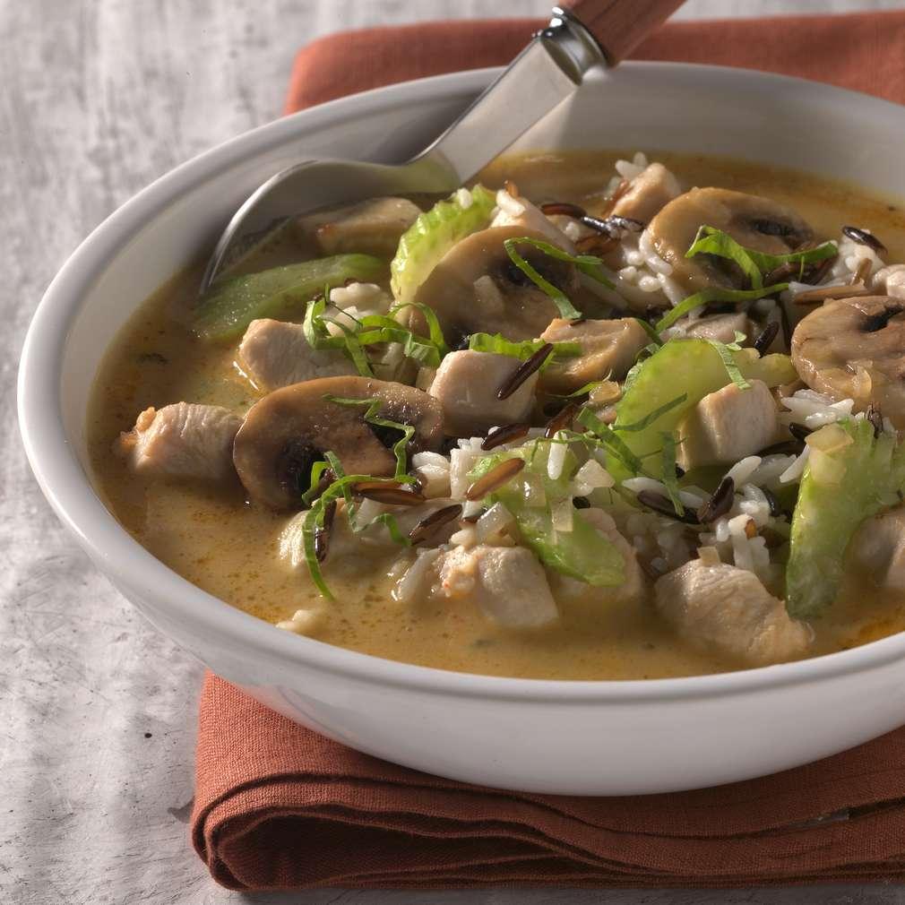 Abbildung des Rezepts Curry-Reis-Suppe