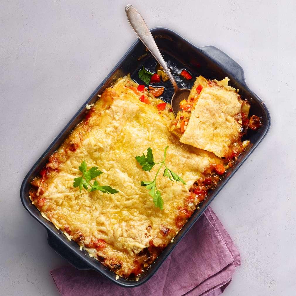 Abbildung des Rezepts Gemüse-Lasagne
