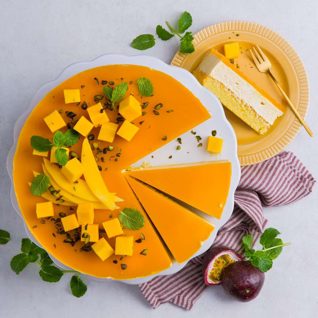 Abbildung des Rezepts Mango-Maracuja-Torte