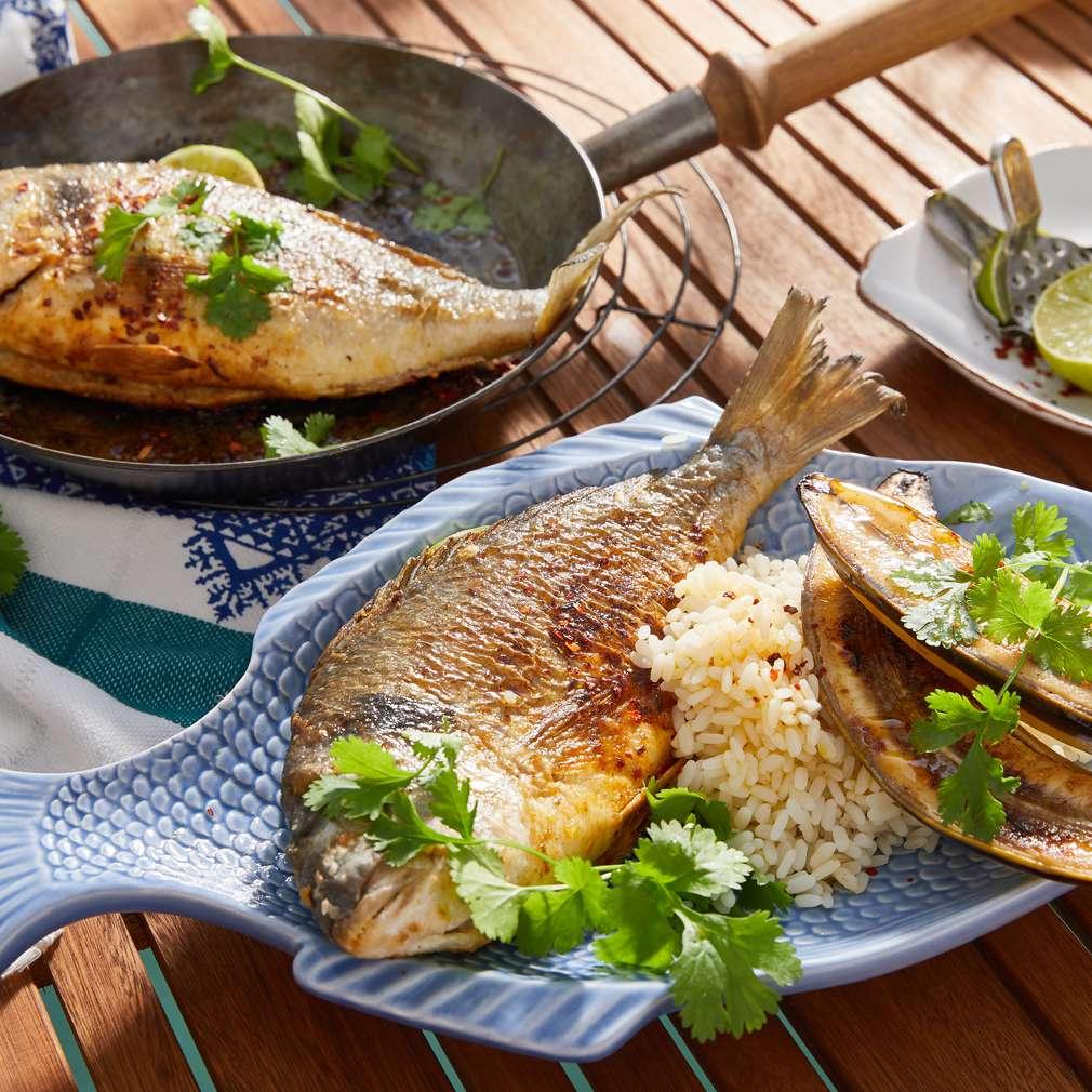 Fotografija recepta Orada na panamski