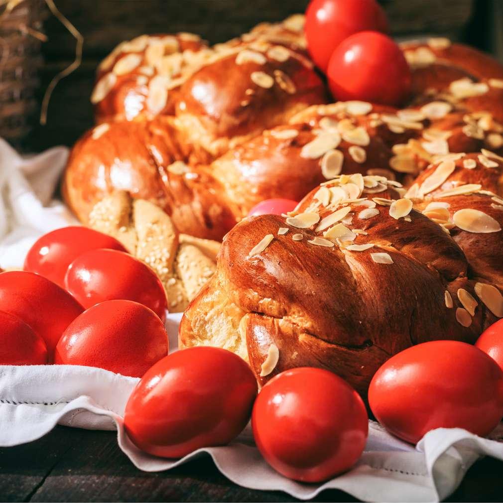 Imaginea rețetei Cozonac împletit pentru Paște