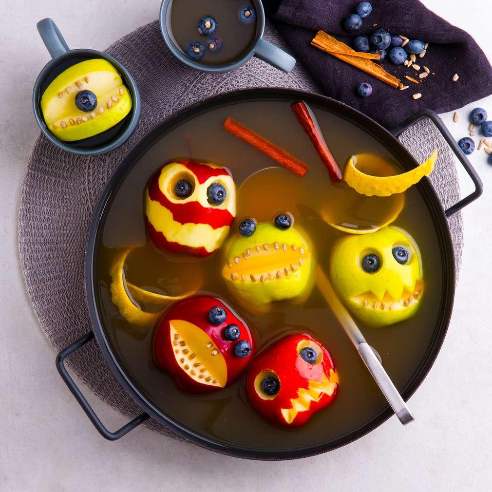 Abbildung des Rezepts Halloween-Apfel-Punsch
