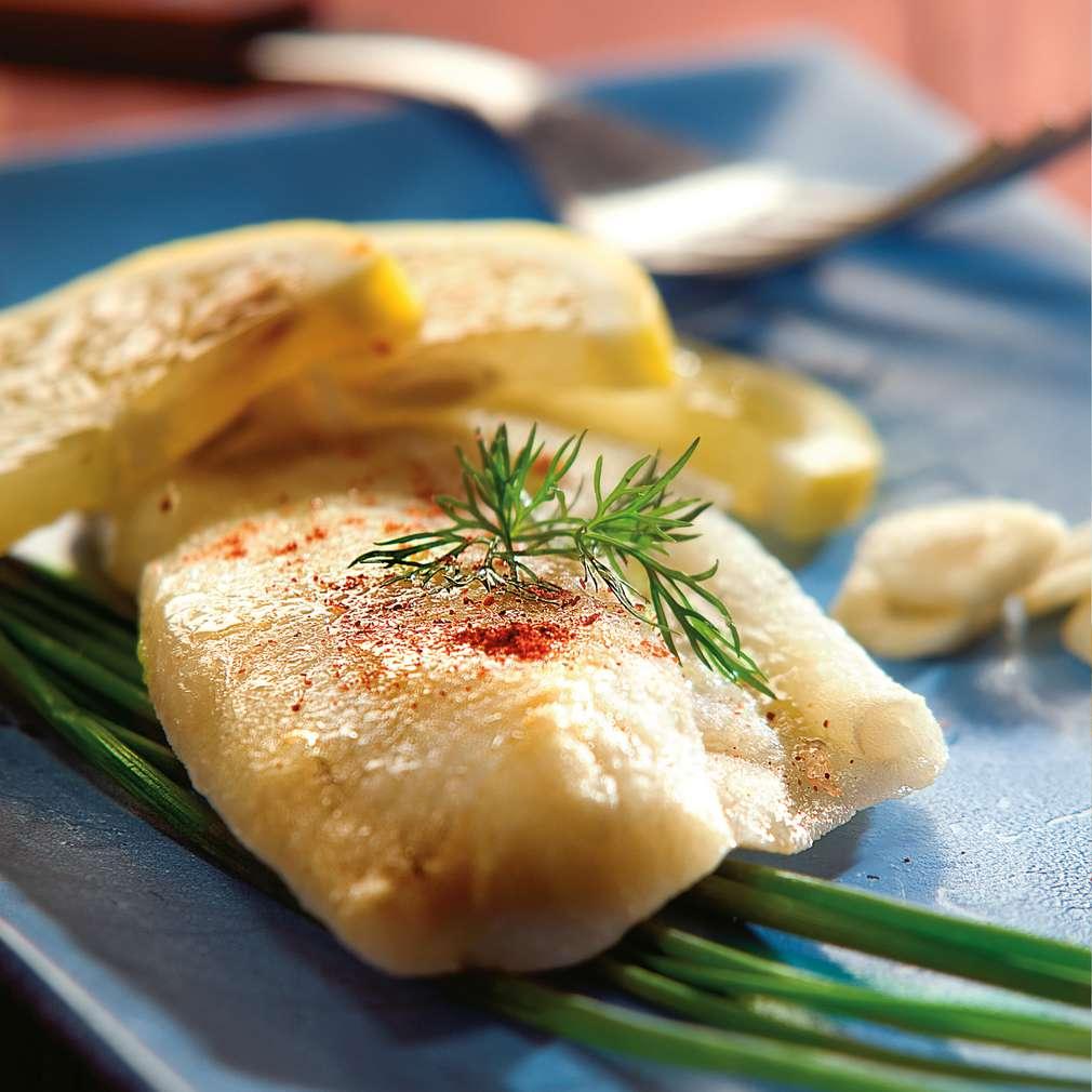 Изобразяване на рецептата Маринована бяла риба на скара
