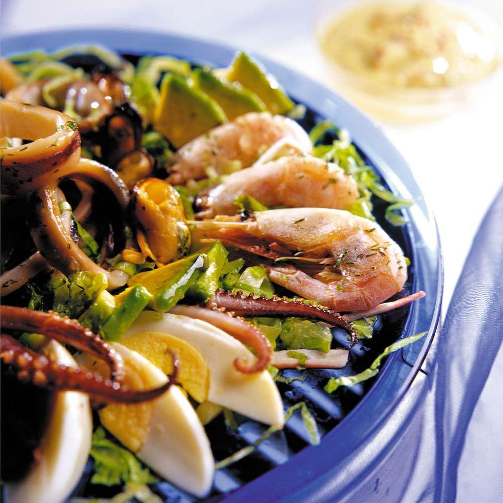 Изобразяване на рецептата Салата Нептун