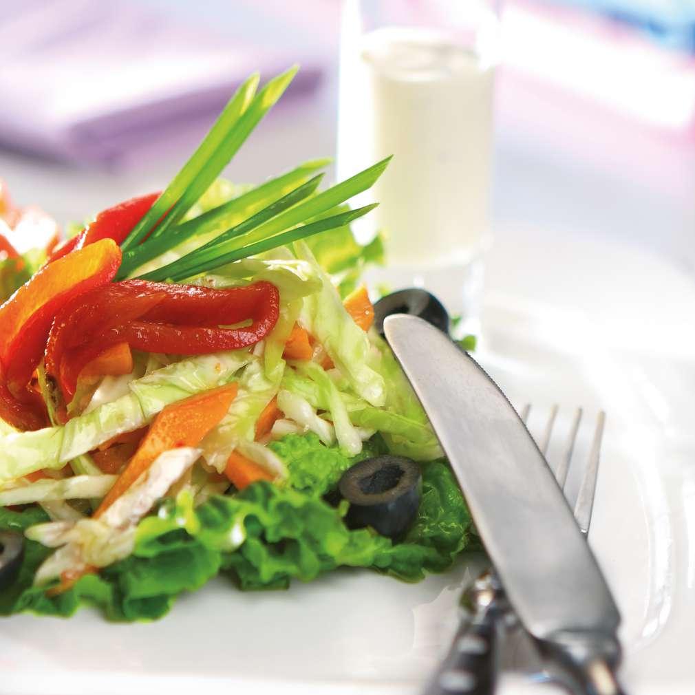 Изобразяване на рецептата Бабина салата