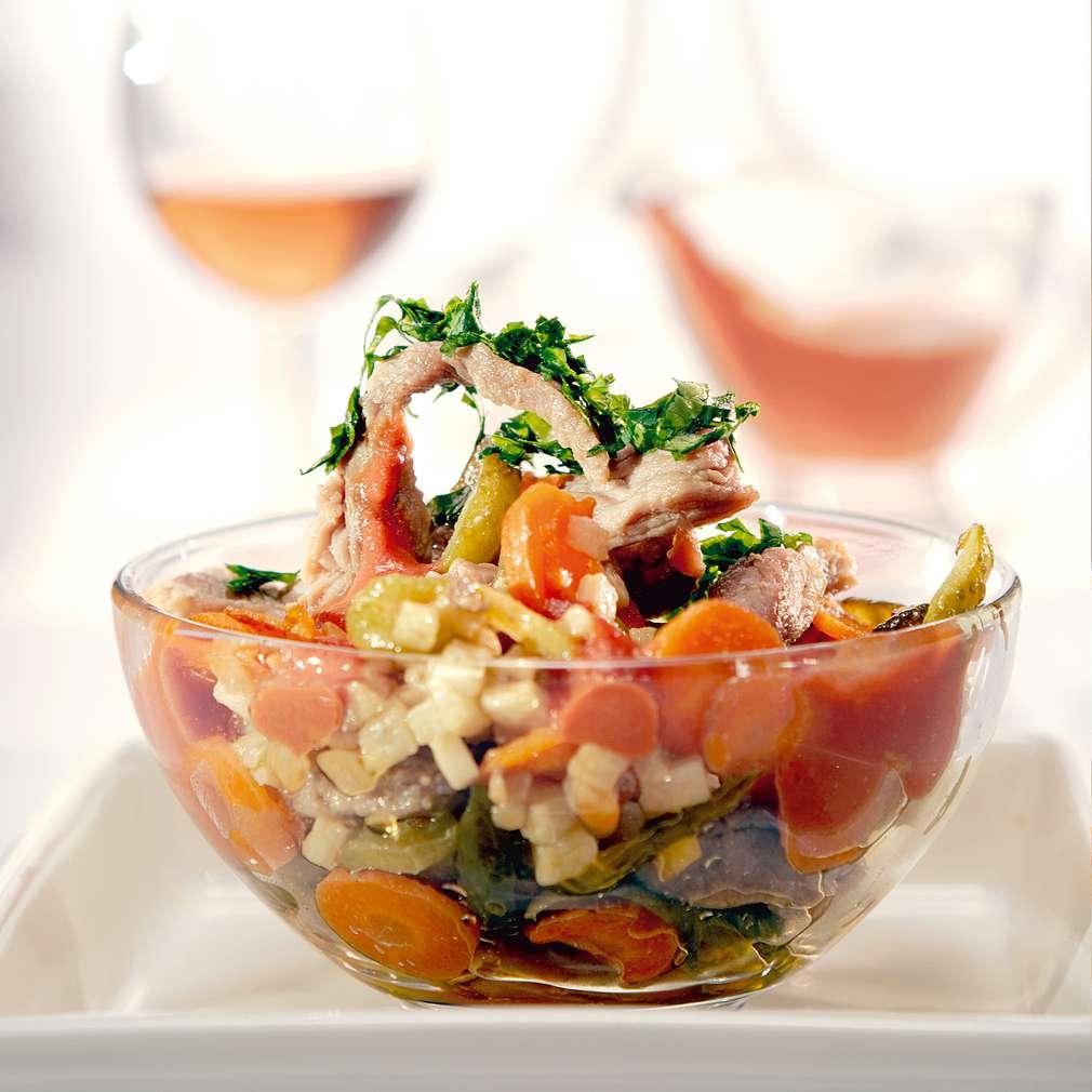 Изобразяване на рецептата Свинско с кисели краставички