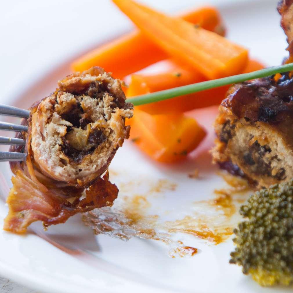 Изобразяване на рецептата Свински руладини с бекон