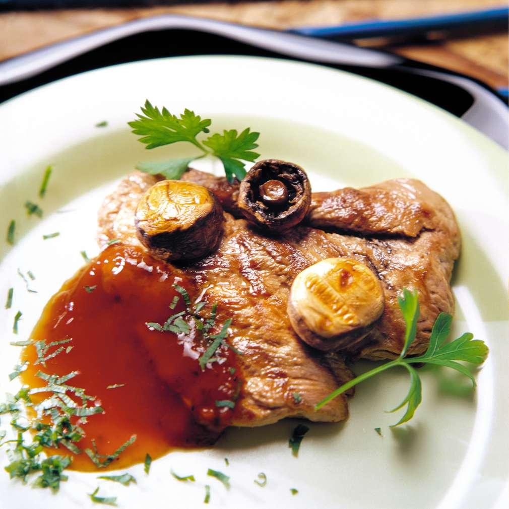 Изобразяване на рецептата Свински котлети в доматен сос
