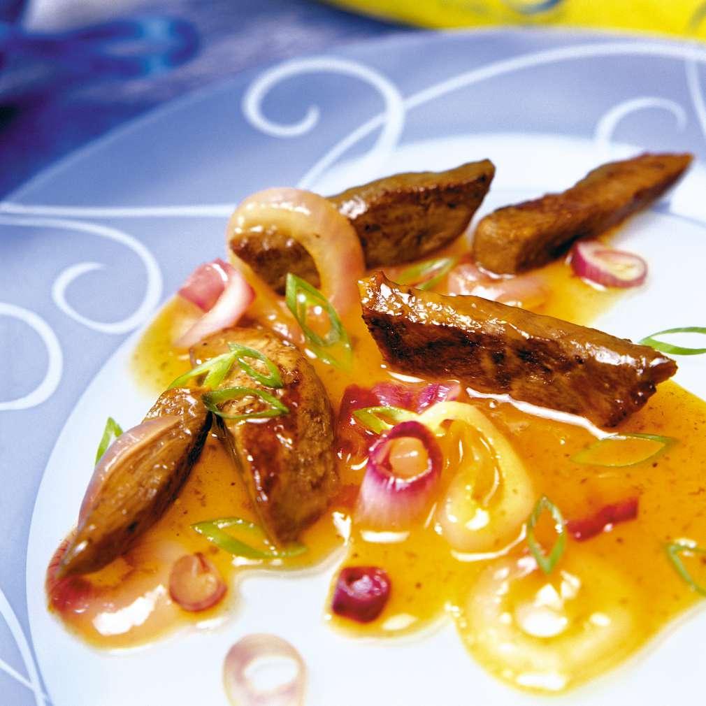 Изобразяване на рецептата Рибици с мед и дижонска горчица
