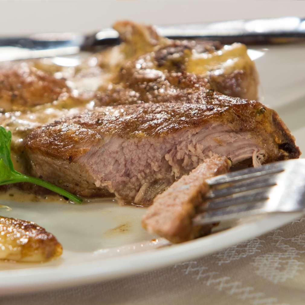Изобразяване на рецептата Бързи свински вратни пържоли