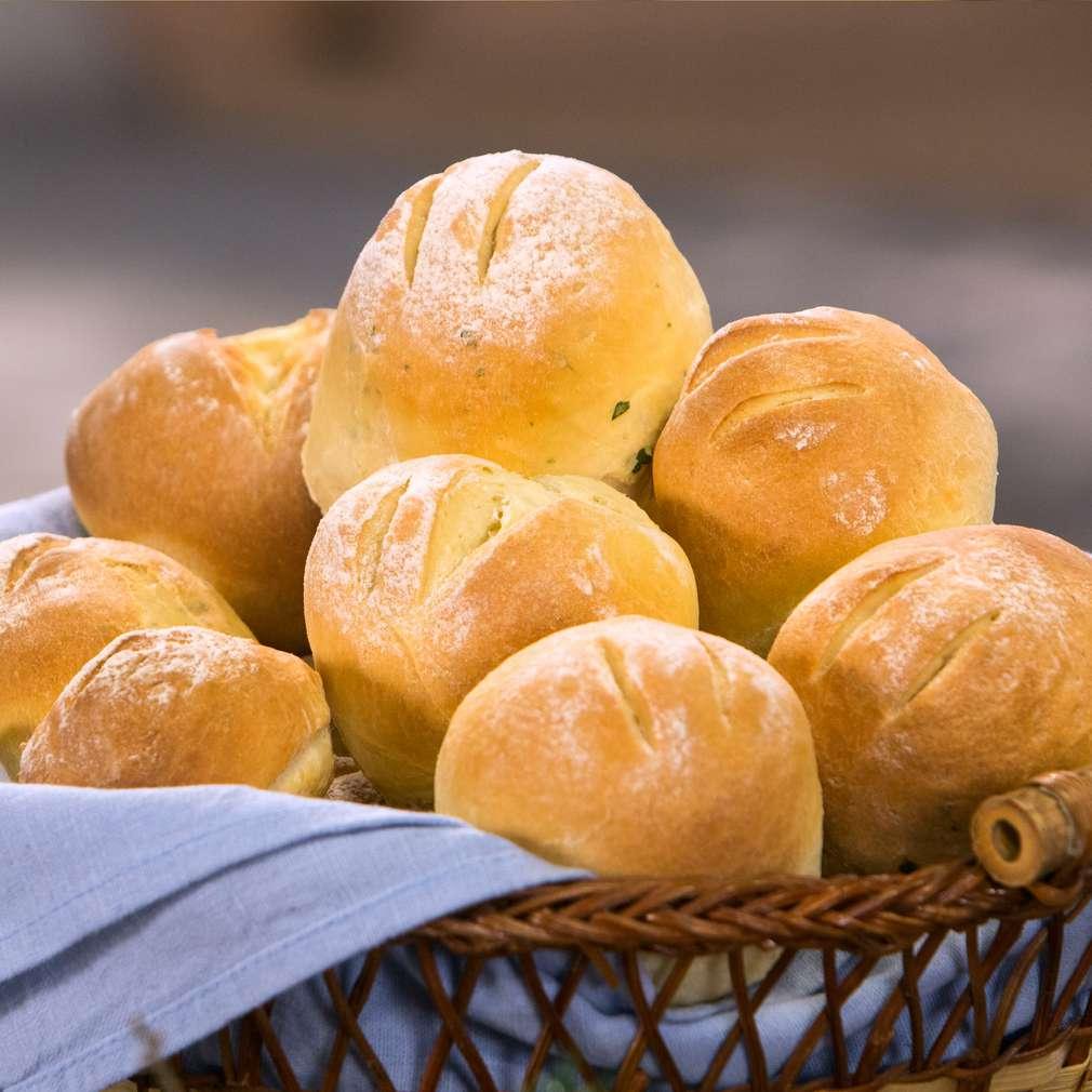 Изобразяване на рецептата Хлебчета с мляко