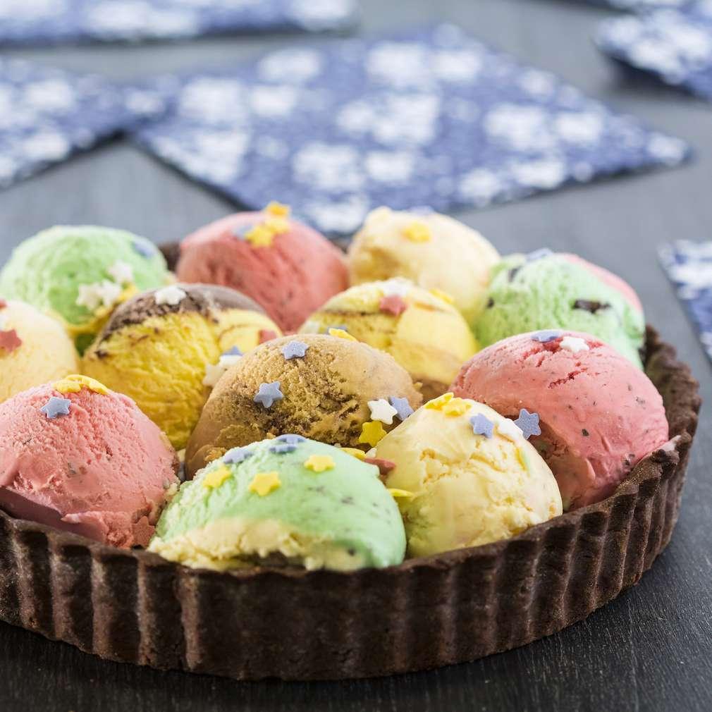 Изобразяване на рецептата Лесна сладоледена торта